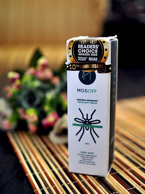 MOSOFF  Kinoplus Natural Mosoff Mosquito Repellent Cream (Baby Safe)