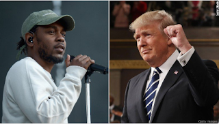 'Donald Trump Is A Chump' - Kendrick Lamar Blasts President Trump In New Song 1