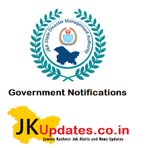 Tags :- J&K Disaster Management, Relief, Rehabilitation & Reconstruction interview update, Government Jobs in J&K, Govt Latest Jobs, J&K Govt Jobs, JK Jobs, jobs in Jammu, Jobs in Kashmir