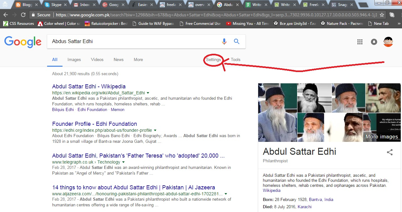 How to turn off auto suggest feature on google geekfellows 2 after that click on settings xflitez Gallery