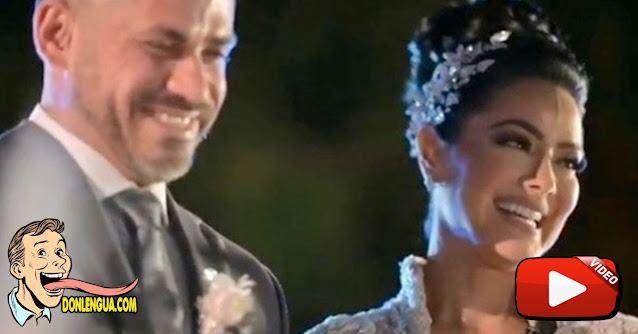 PERRAJE | Ex-marido de Norkys Batista fue el padrino de su boda con un portugués