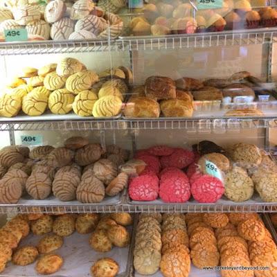 cookie case at Mi Tierra Foods in Berkeley, California