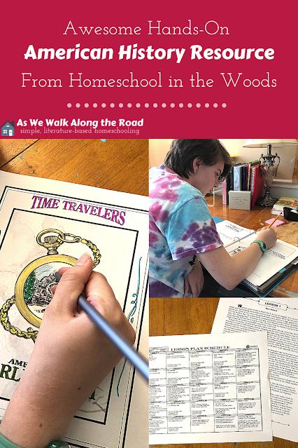 Hands-on history Homeschool in the Woods