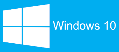 Logo Windows 10 biru