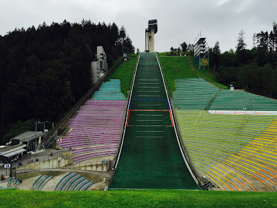 Bergisel Ski Jump: view from the bottom
