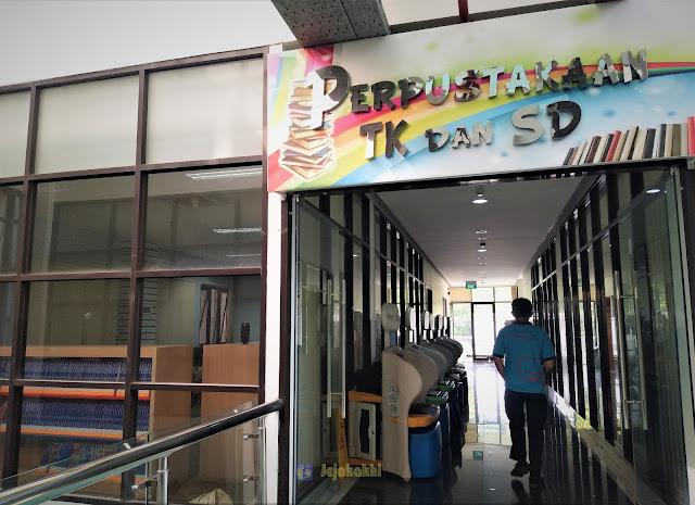 Perpustakaan Asyik Untuk Anak di Dispusip Kota Bandung