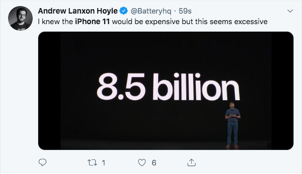 Apple Just Released The iPhone 11 and The Internet Is Roasting It With Memes