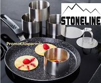 Logo Stoneline Lotteria : vinci gratis 1 Set di coppapasta per cucina e pasticceria, 8 pezzi