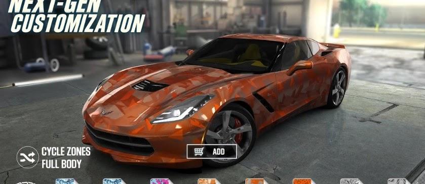 Free Download CSR Racing v2.8.0 Mod Unlimited Money