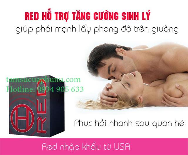 IRED tăng cường sinh lý nam - IRED hỗ trợ về sinh lý yếu