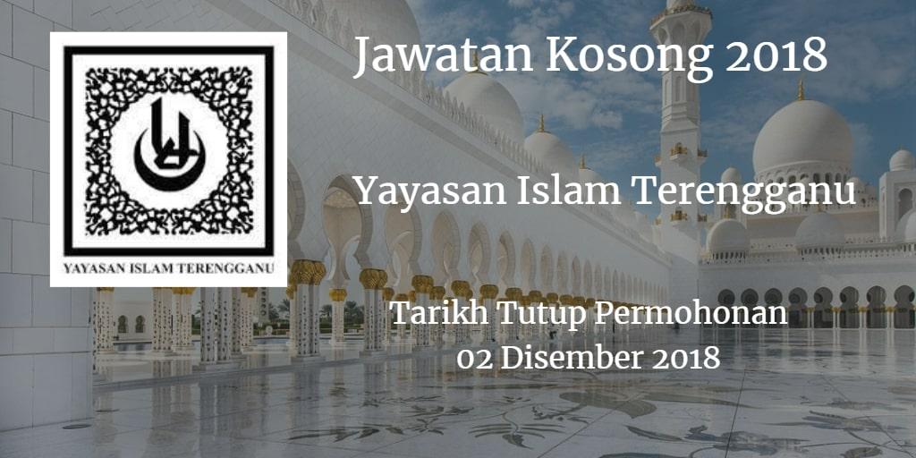 Jawatan Kosong YIT 02 Disember 2018