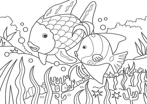 Cuéntame un cuento: El pez arcoiris - Aula de Elena