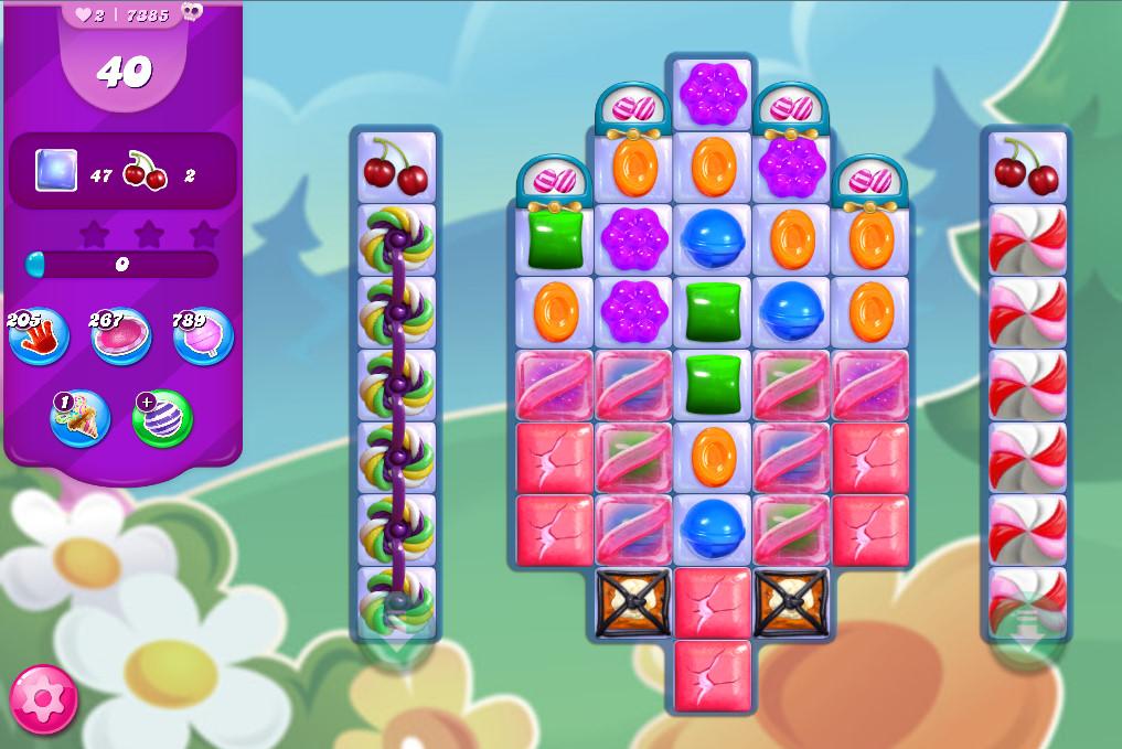Candy Crush Saga level 7385