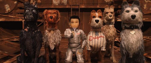 isle of dog film jepang