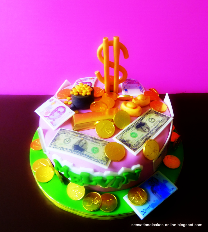 The Sensational Cakes Money Money Money Cake