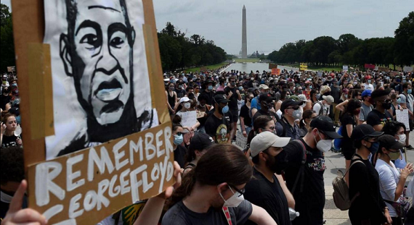 """Washington is preparing for a """"million"""" demonstration against racism"""