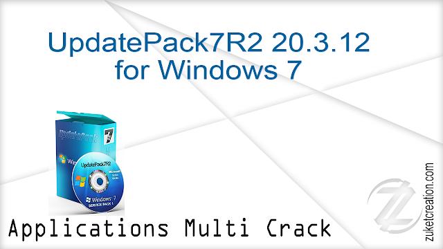UpdatePack7R2 20.3.12 for Windows 7