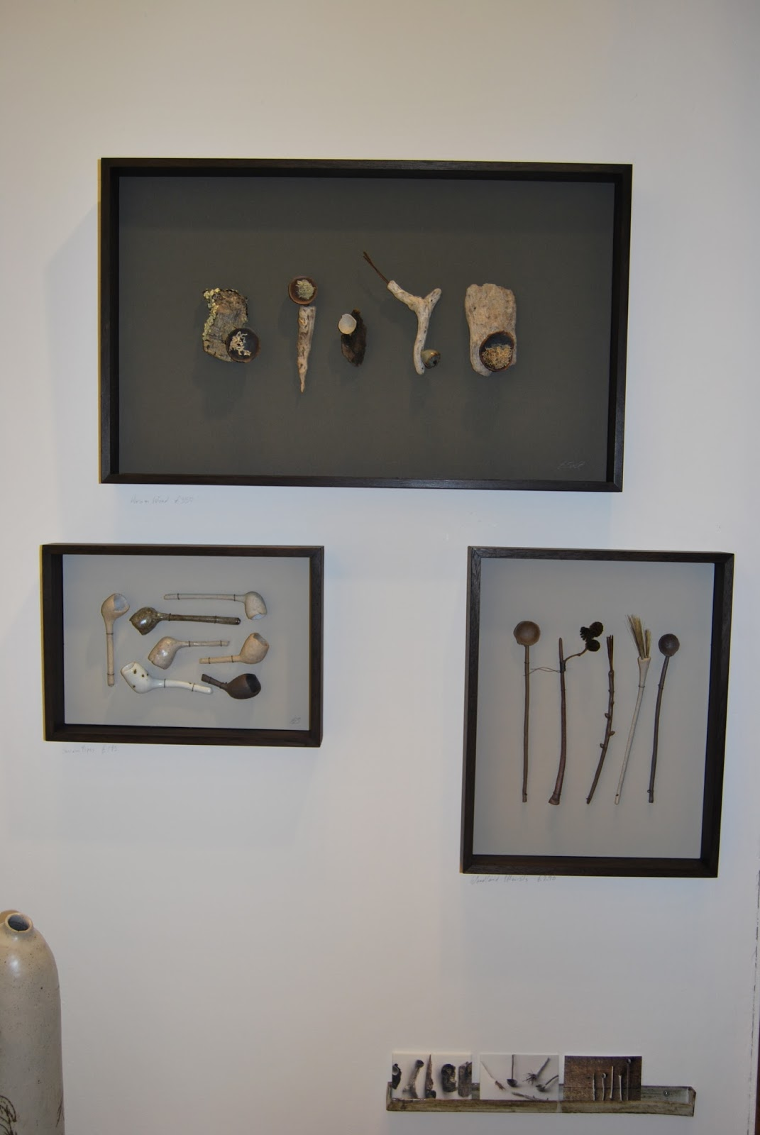 Elaine Bolt at Brighton Art Fair 2015, photo by Modern Bric a Brac