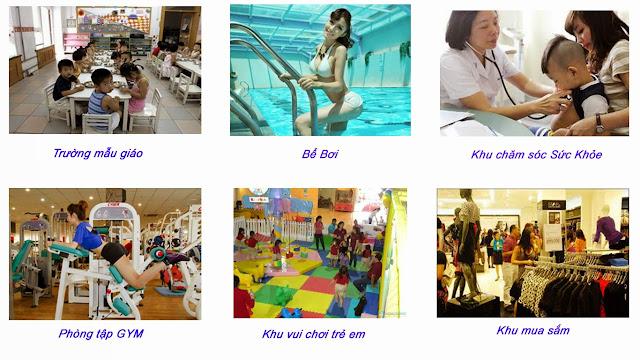 Tiện ích tổng hợp của PCC1 THANH XUÂN