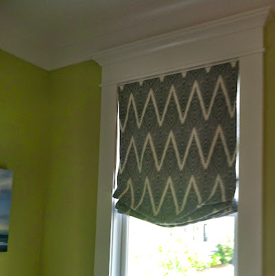 Roman shades in the 2013 Coastal Living Showhouse at Daniel Island, SC | The Lowcountry Lady