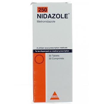 سعر ودواعي إستعمال أقراص نيدازول Nidazole مضاد حيوى