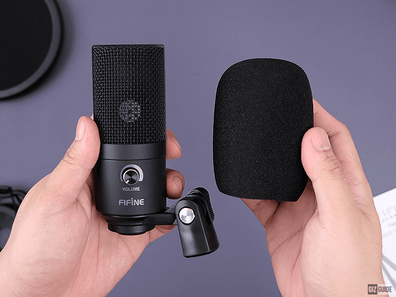 FIFINE Microphone with cover