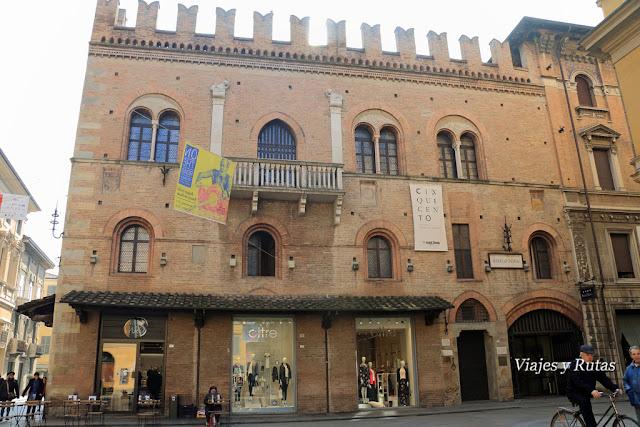 Palazzio del Capitano del Popolo, Reggio Emilia, Italia