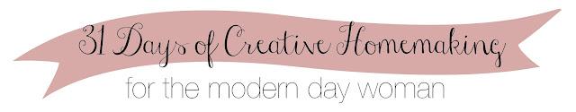 31 Days of Creative Homemaking: The Ebook