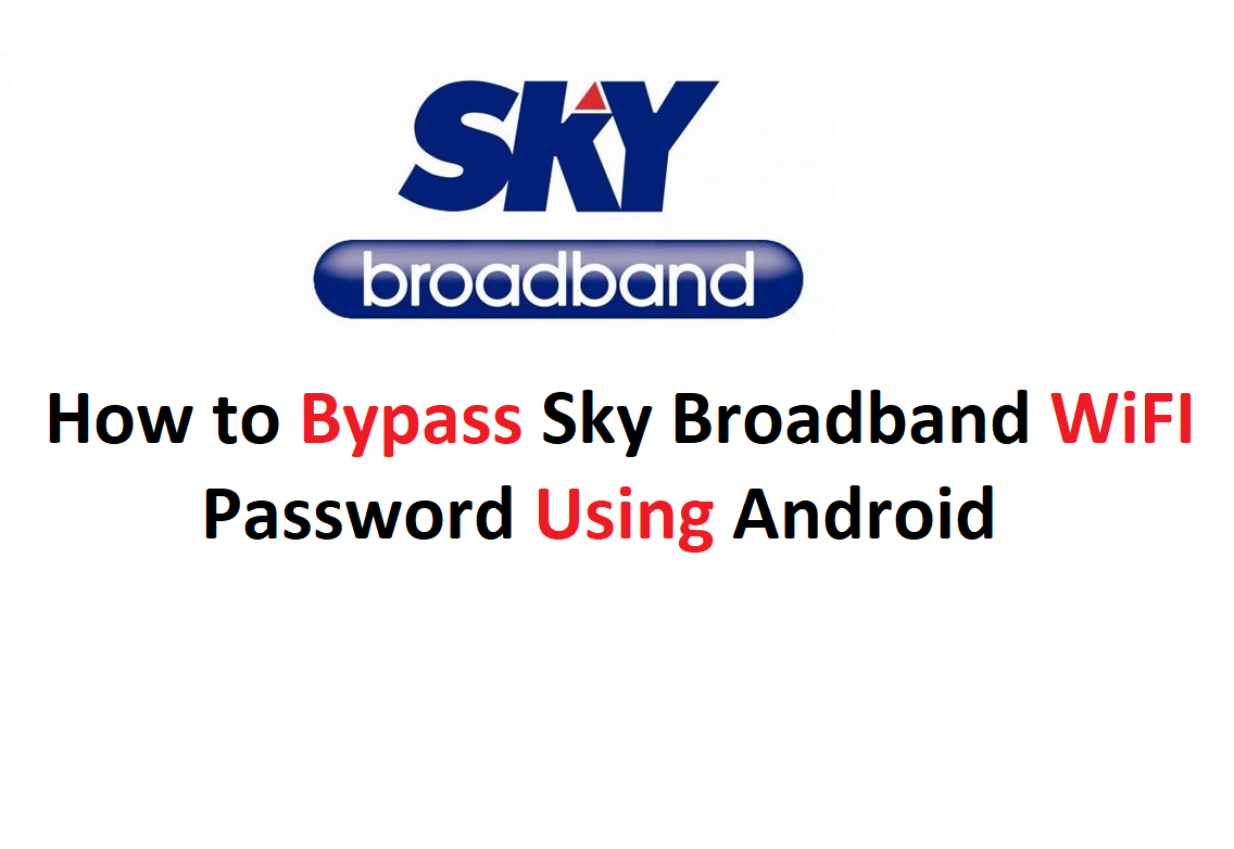 How to Bypass Sky Broadband WiFi Password - Hack | Pinoytut