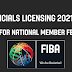 FIBA Table Officials Licensing Information Announced by Canada Basketball for 2021-23
