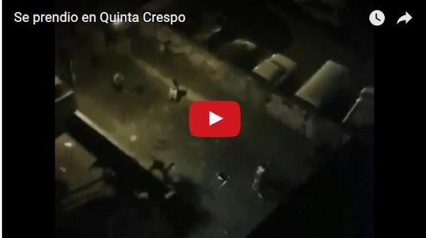 Disturbios en Quinta Crespo dejan un herido