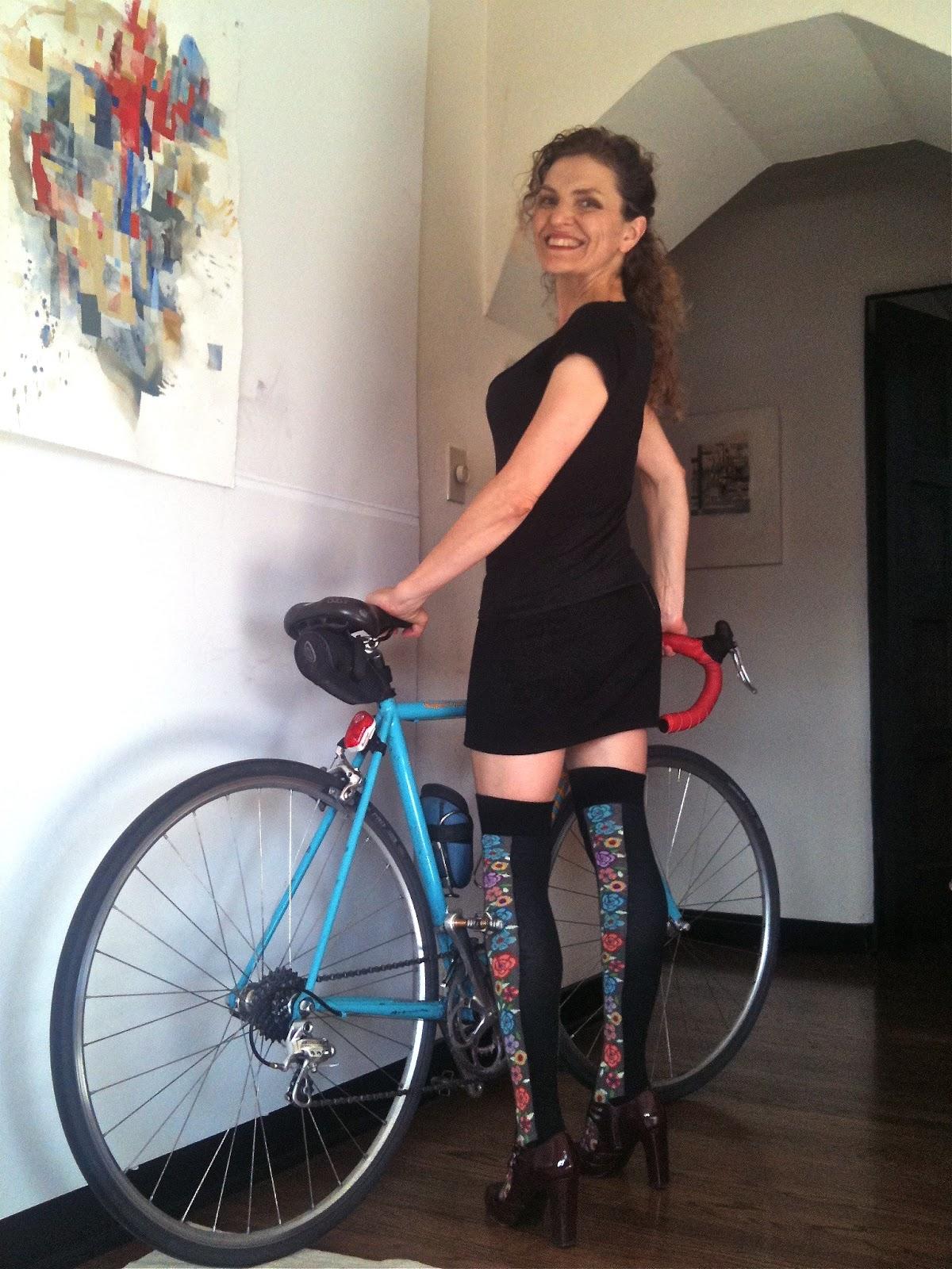 Of Pantyhose And Bike 33