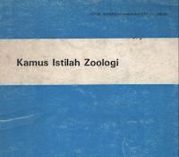 Kamus Zoologi