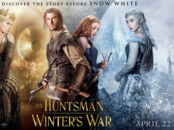 MOVIE REVIEW : THE HUNTSMAN - WINTER'S WAR