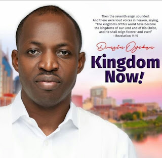 """Dunsin Oyekan, Yahweh from the """"Kingdom Now"""" project"""