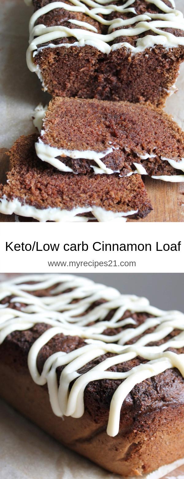 Keto/Low Carb Cinnamon Loaf