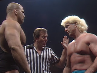 NWA Starrcade 1986 (The Skywalkers) - Nikita Koloff challenged Ric Flair for the World Heavyweight Championship