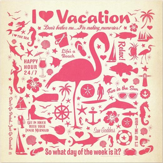 Pink Flamingo Art Prints