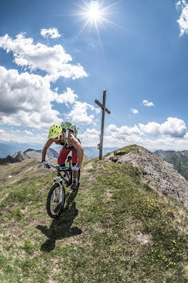 Mountainbike Tour Seefeldspitze Südtirol