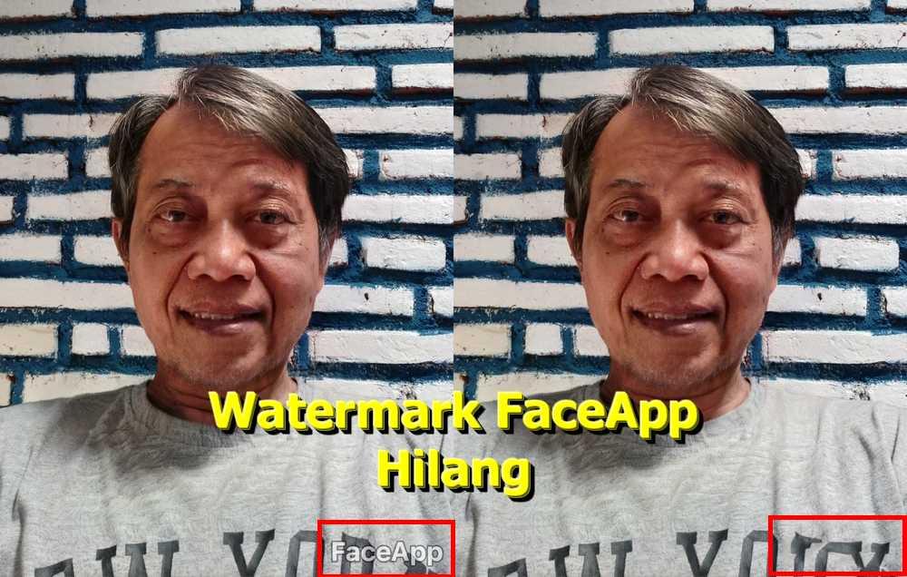 Cara Mengedit Foto Jadi Tua dengan FaceApp tanpa Watermark