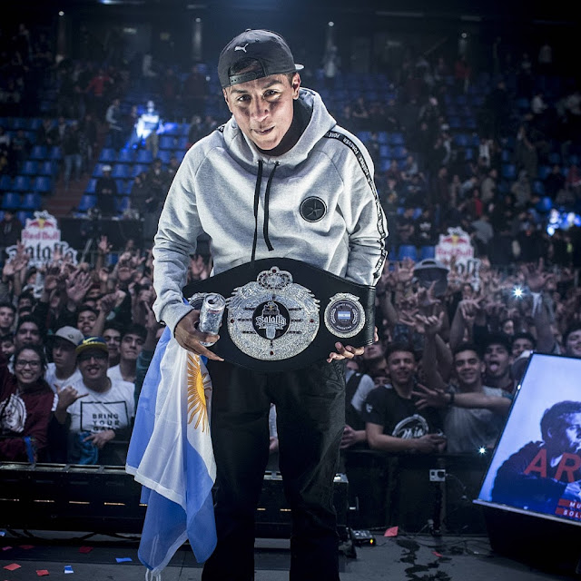 #BatallaDeLosGallos2018 Dozer nuevo campeón argentino