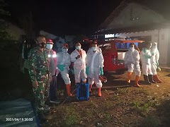 Babinsa Koramil 07/Wonopringgo Turut Mengamankan Pemakaman Jenazah Covid-19