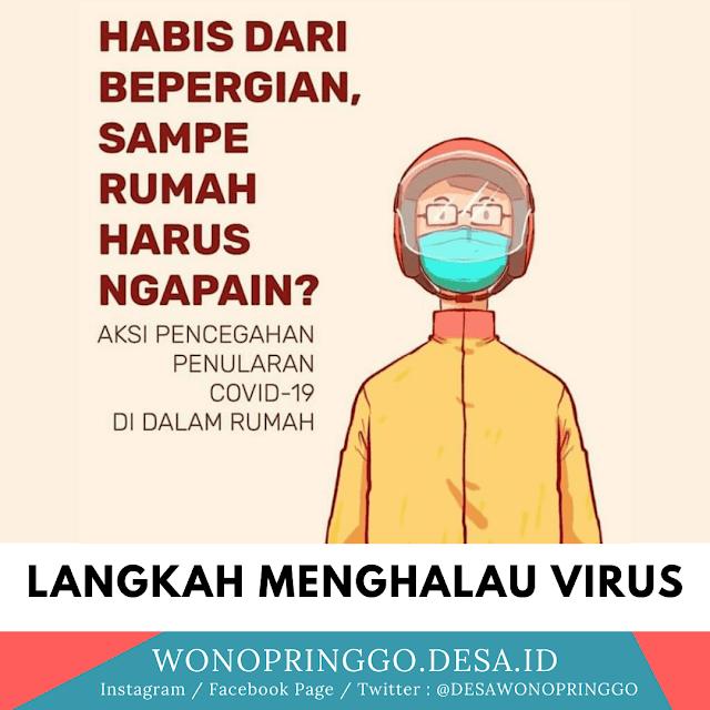 7 Langkah Mudah Menghalau Virus: Cara Menghalau Coronavirus di Rumah