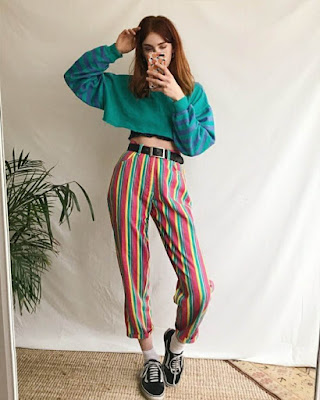 moda retro femenina
