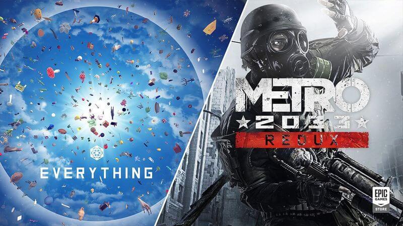 Epic Games Store: Αποκτήστε εντελώς δωρεάν το Metro 2033 και το Everything