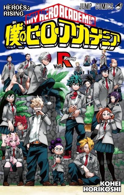 recibirán un manga exclusivo de Horikoshi titulado Boku no Hero Academia Vol. R (My Hero Academia Vol. Rising) como regalo hasta agotar existencias.