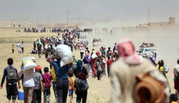 Pelo menos 70 mulheres e crianças curdas Yezidi foram libertados de territórios controlados pelo ISIS no Iraque e na Síria desde o início da ofensiva contra os militantes em Mosul, na semana passada