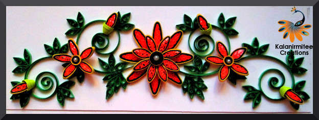 kalanirmitee:paper quilling- quilling ideas- quilled projects- quilled flowers- quilling