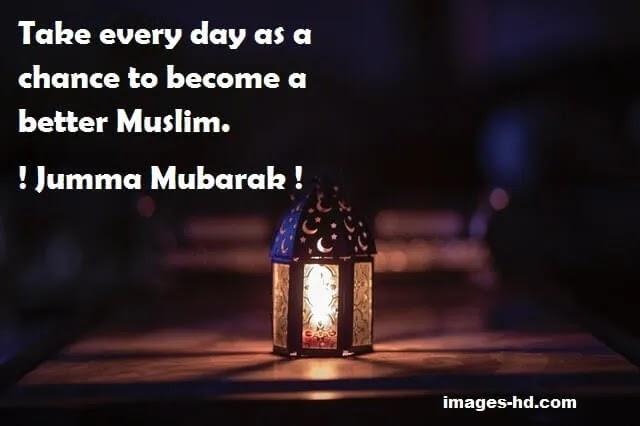 Become a better Muslim, jumma mubarak