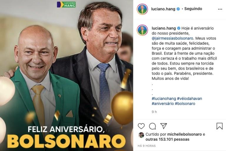 Screenshot 2021 03 21T091755.219 768x514%2B%25282%2529 - Bolsonaro completa 66 anos e é homenageado por multidão de patriotas que canta parabéns em frente ao planalto; VEJA VÍDEO